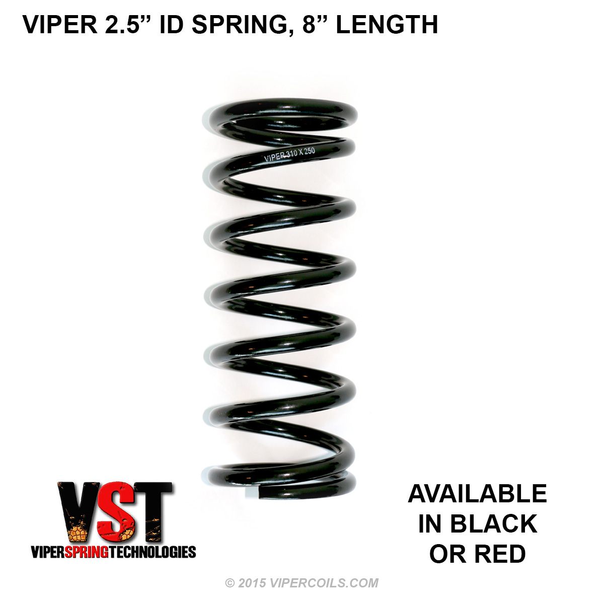VST Springs 2-5 Black 8
